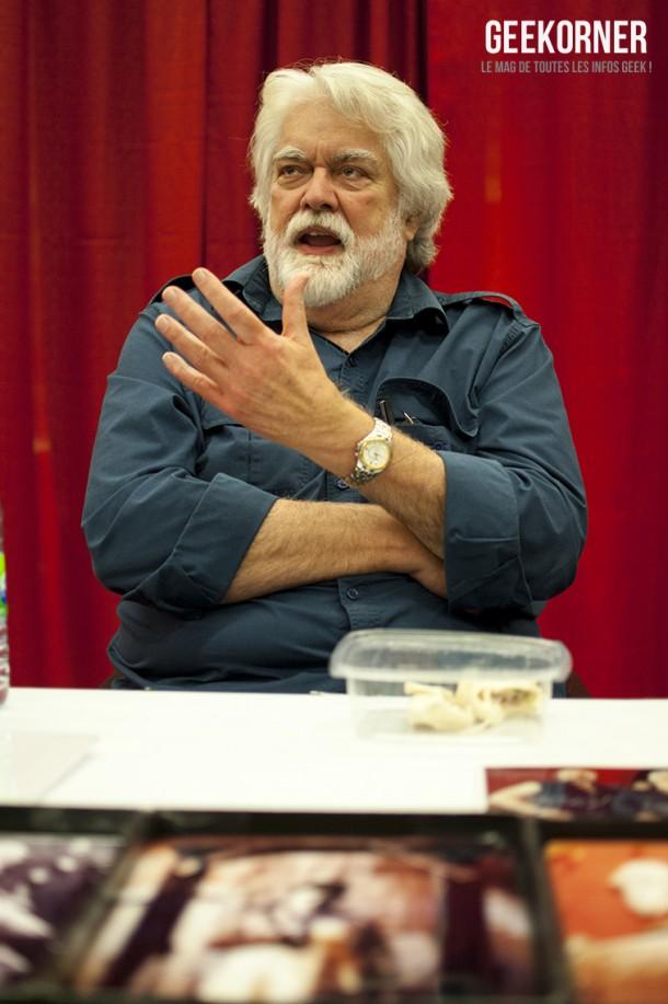 Gunnar Hansen Comiccon Montréal 2012 - Geekorner - 004