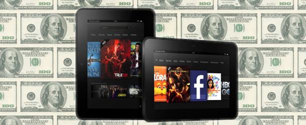 Kindle Fire HD : 15 $ pour supprimer les Publicités
