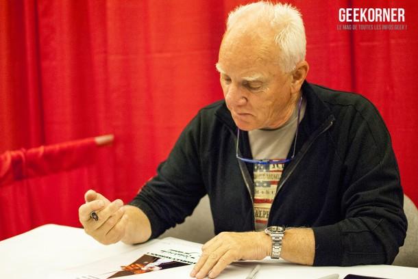 Malcolm McDowell - Comiccon Montréal 2012 - Geekorner - 001