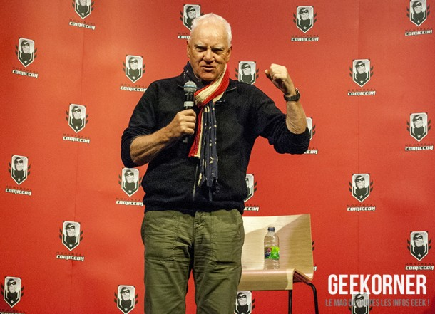 Malcolm McDowell - Comiccon Montréal 2012 - Geekorner - 004