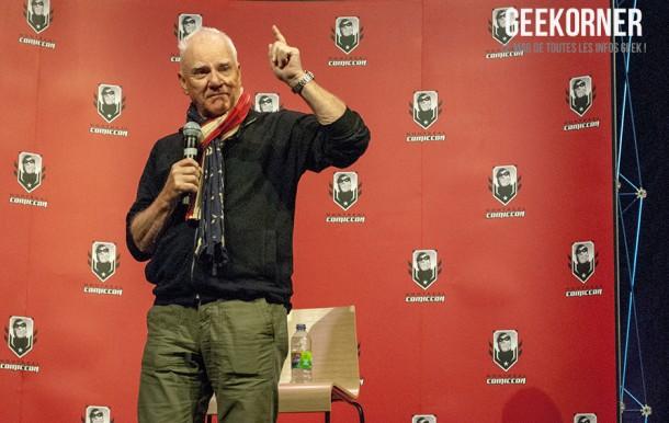 Malcolm McDowell - Comiccon Montréal 2012 - Geekorner - 005