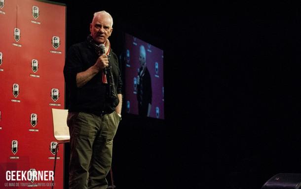 Malcolm McDowell - Comiccon Montréal 2012 - Geekorner - 010