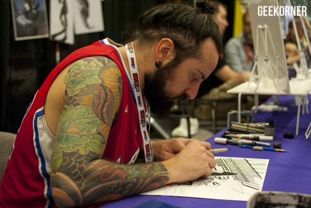 Matteo Scalera - Comiccon Montréal 2012 - Geekorner - 005
