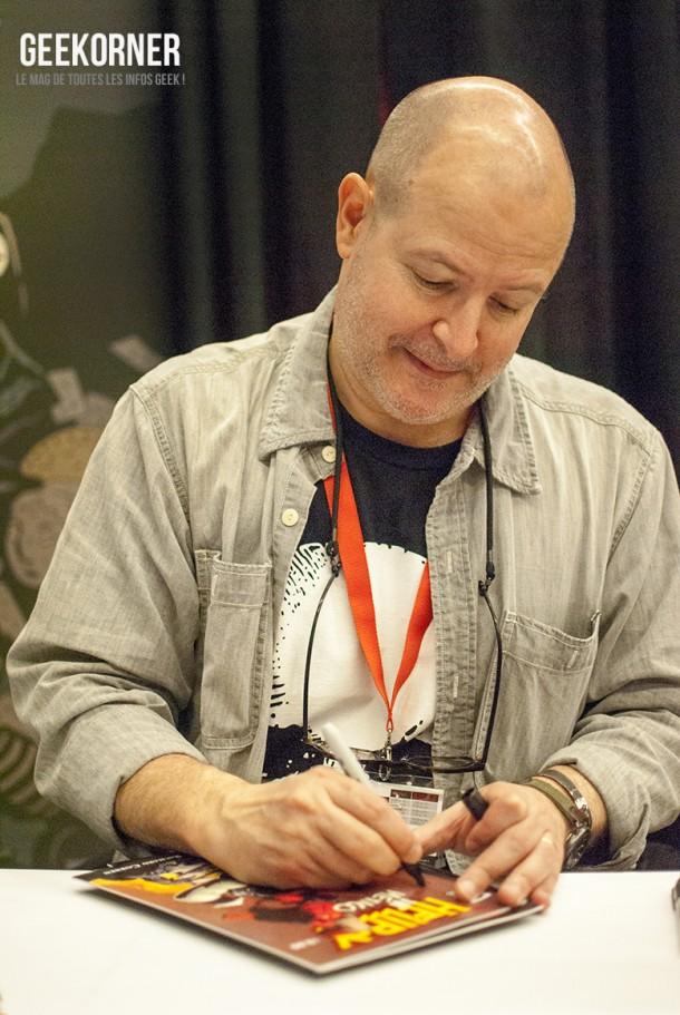 Mike Mignola - Hellboy - Comiccon Montréal 2012 - Geekorner - 004