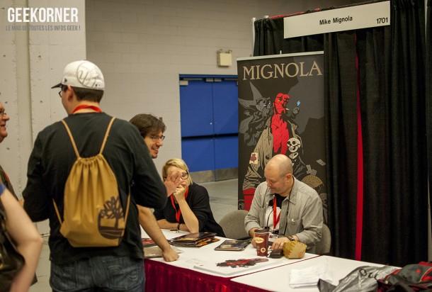 Mike Mignola - Hellboy - Comiccon Montréal 2012 - Geekorner - 006
