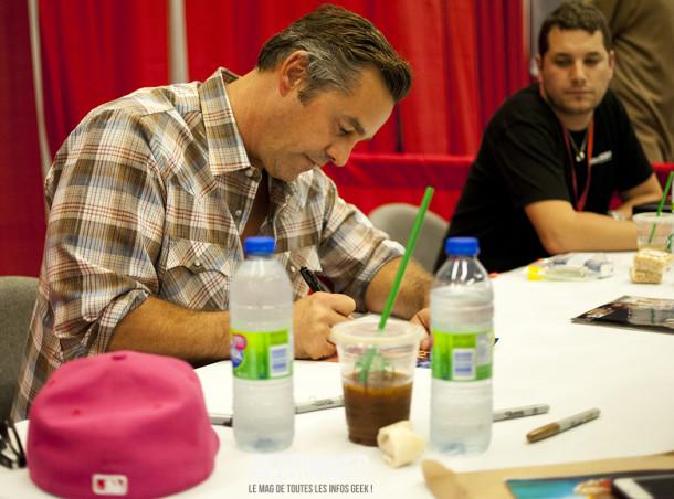 Nicholas Brendon - Alex - Buffy - Comiccon Montréal 2012 - Geekorner - 005