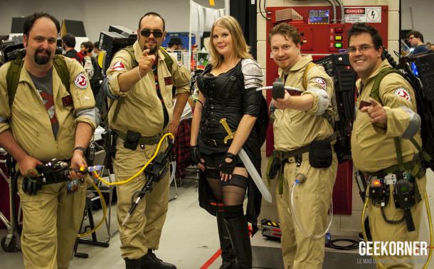 SOS Fantomes- Comiccon Montréal 2012 - Geekorner - 012