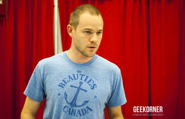 Warehouse 13 - Aaron Ashmore - Comiccon Montréal 2012 - Geekorner - 008