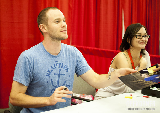 Warehouse 13 - Aaron Ashmore - Comiccon Montréal 2012 - Geekorner - 011