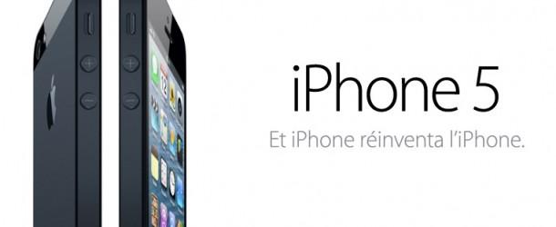 iPhone 5 : Tout ce qu'il faut savoir