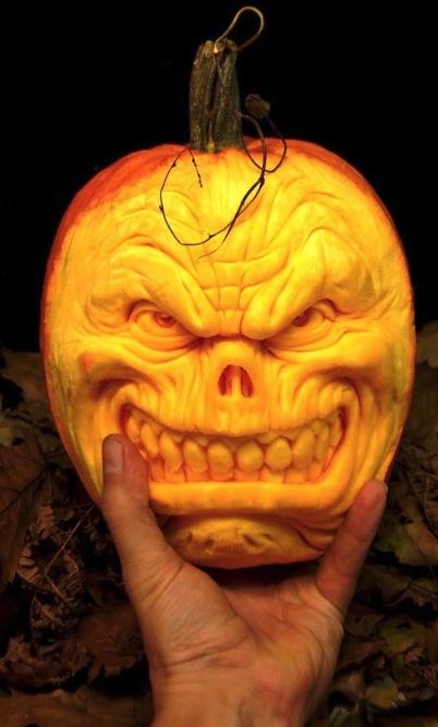 Citrouilles Halloween - Art Geek Horreur - Ray Villafane- 038