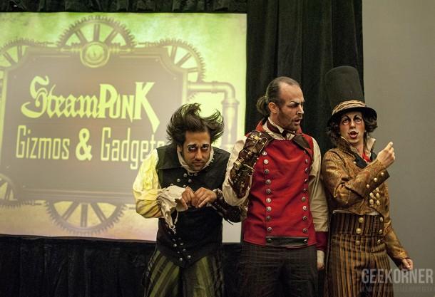 Jardin Mecanique - Comiccon Montréal 2012 - Geekorner- 058