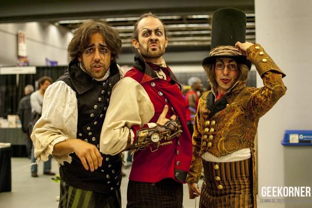 Jardin Mecanique - Comiccon Montréal 2012 - Geekorner- 059