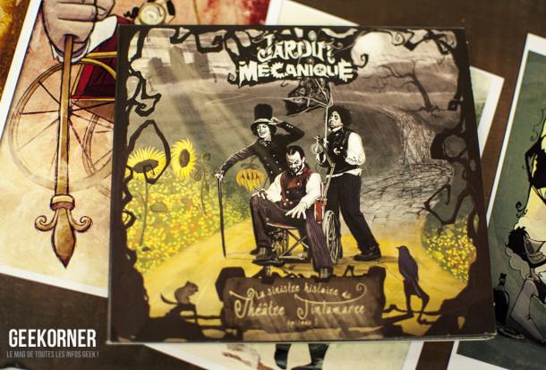 Jardin Mecanique - Comiccon Montréal 2012 - Geekorner- 062
