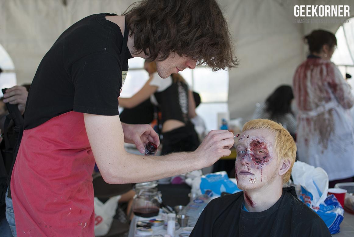 photos de la marche des zombies de montr u00e9al 2012