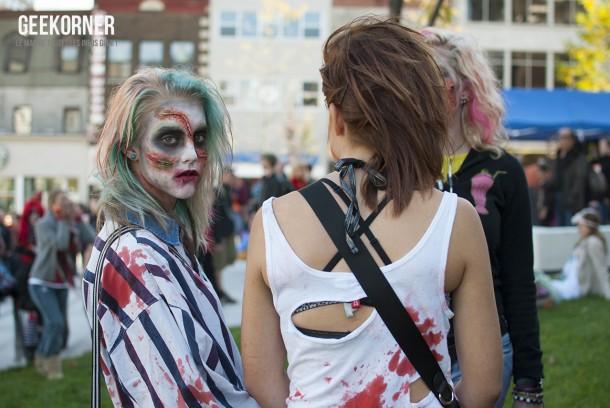 Marche Zombies Walk Montreal 2012 - Geekorner - 075
