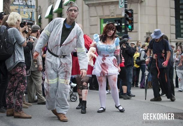 Marche Zombies Walk Montreal 2012 - Geekorner - 157