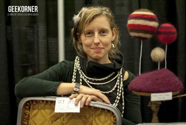 Marie-Noëlle Wurm - Comiccon Montréal 2012 - Geekorner - 032