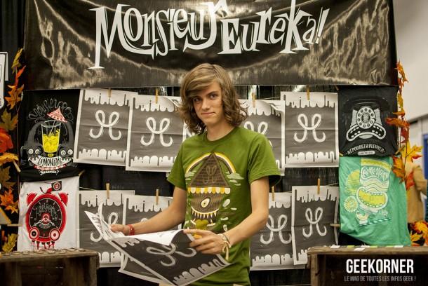 Monsieur Eureka - Comiccon Montréal 2012 - Geekorner- 081