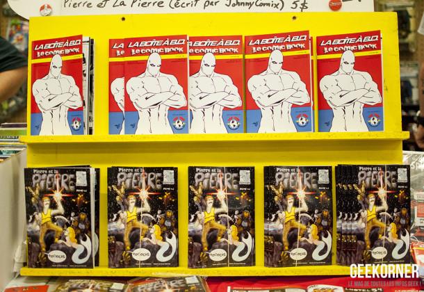 Pierre et la Pierre - Comiccon Montréal 2012 - Geekorner- 087