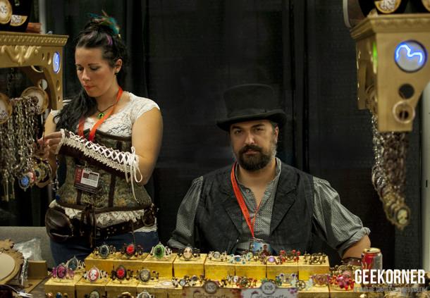 SteamPunk - Comiccon Montréal 2012 - Geekorner- 090