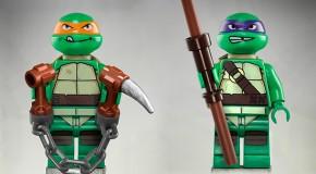Les Lego Tortues Ninja arrivent en 2013