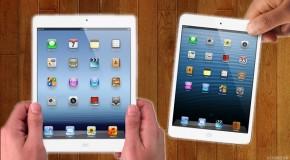 iPad Mini ou iPad 4 : lequel choisir ?