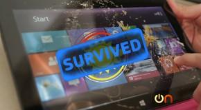 Torture de la tablette Surface de Microsoft [Vidéo]