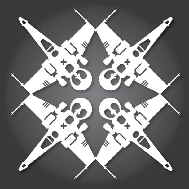 X-wing-displayed