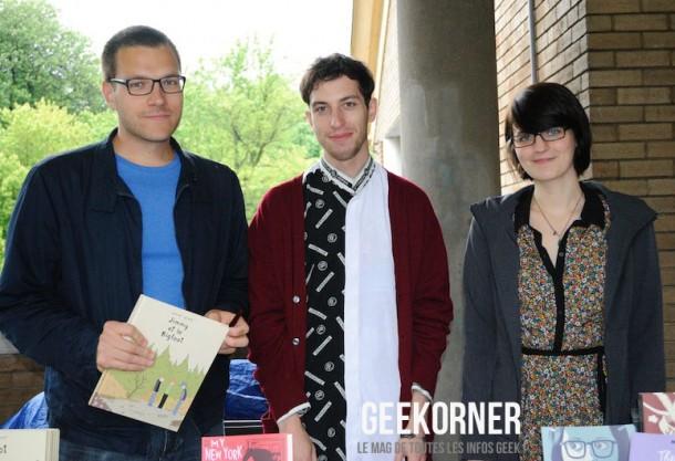 Librairie-Drawn-and-Quarterly-Marie-Jade-Menni-Julien-Ceccaldi-FBDM-2012-Geekorner-3