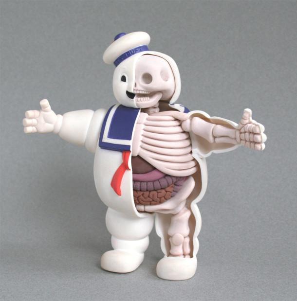 Puft-Anatomie-Jason-Freeny-Sculpture-Geekorner