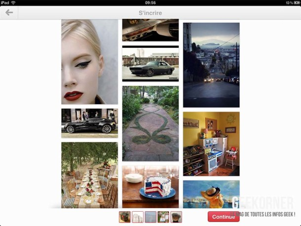 Pinterest iPad - Geekorner - 05