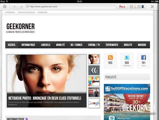 Pinterest iPad - Geekorner - 09