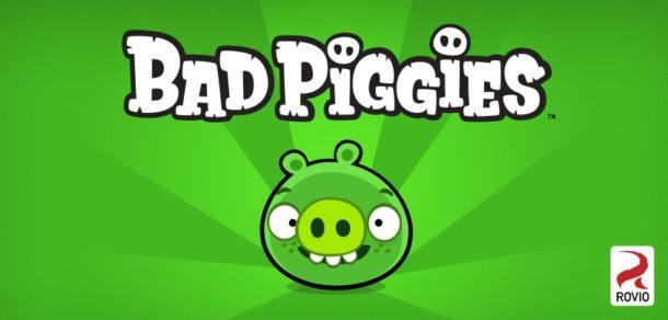 Bad Piggies Logo - Geekorner