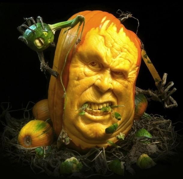 Citrouilles Halloween - Art Geek Horreur - Ray Villafane- 025