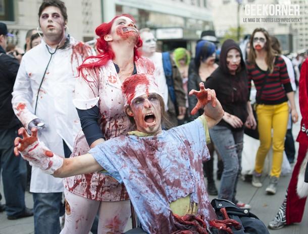 Marche Zombies Walk Montreal 2012 - Geekorner - 145